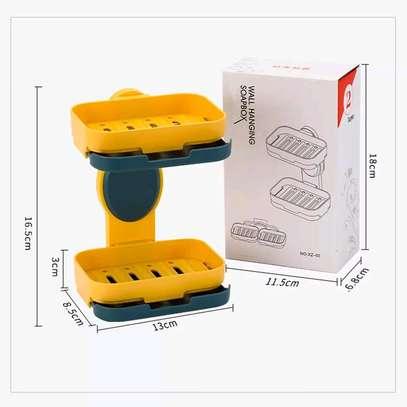 Double soap holder image 4