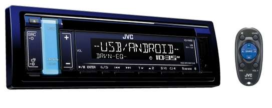 car JVC KD-R498 Car Radio Receiver USB AUX  FM RADIO CD PLAYER