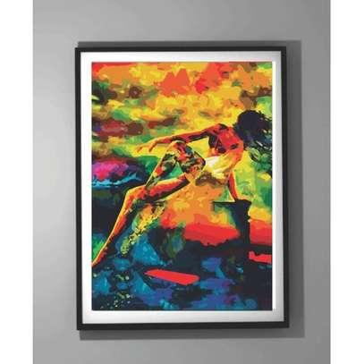 Lady Framed Art. image 1