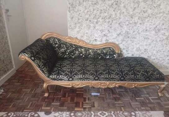 Antique 3  seater Sofa beds. image 1