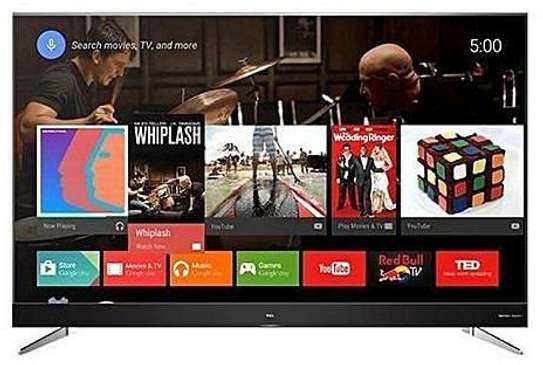 65 inches TCL smart android 4k UHD IPQ ENGINE frameless TV MODEL: 65P715 image 1
