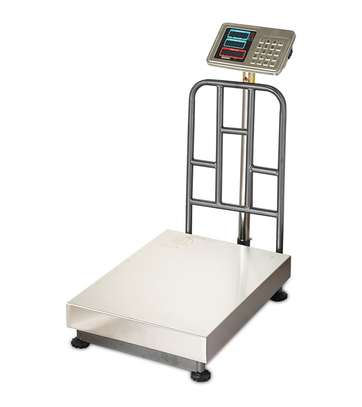 500KG electronic weighing platform  weighing scale home scale image 1