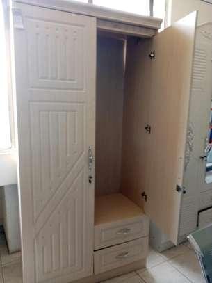 Spacious closet with 2 doors image 1