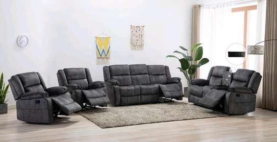 Reclining sofa seats image 1