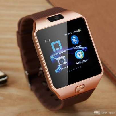 DZ09 SmartWatch for Android and Apple - Bronze image 1