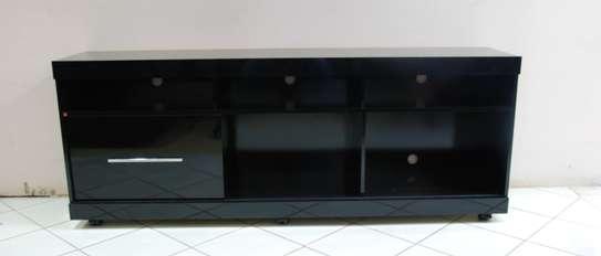 Onyx Black Glossy TV Stand image 3