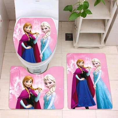Cartoon themed bathroom mat sets image 1