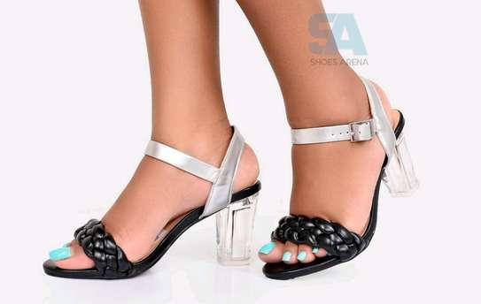 Catchy Chunky heels image 6