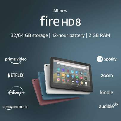 Amazon Fire HD 8 tablet 32GB (10th Gen, 2020 Release) – 8″ HD Display – Black image 2