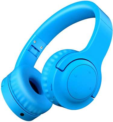 Picun E3 Bluetooth Headphone for Kids (Blue) image 2
