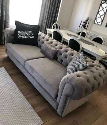 Three seater sofas/chesterfield sofas image 1
