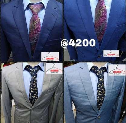 Slim fits men suits image 1
