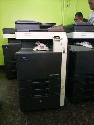 powerful Konica Minolta bizhub c360 photocopier machine image 1