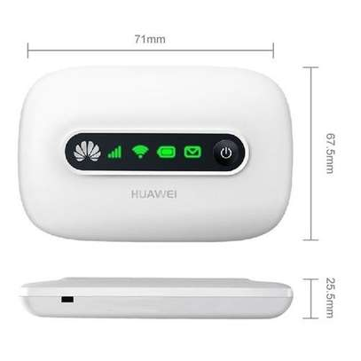 Mbps Mobile WiFi Hotspot portable Router, Support 8 users to access internet, 5 Hours working time, Sign Random Delivery(White)