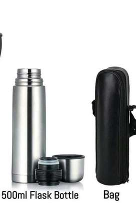Stainless non-breakable 500ml flask image 1