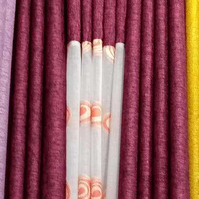 Throw pillows and curtains image 1