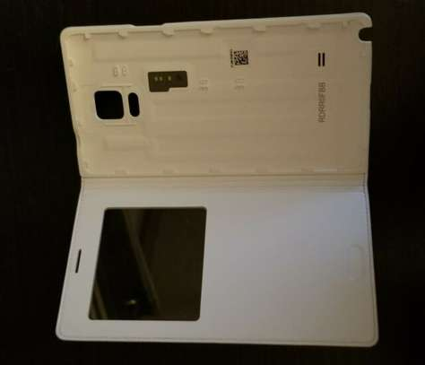 Smart S View Flip Cover Folio Case with Sensor - Samsung  Note 4 Case image 6