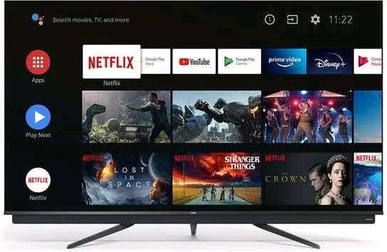 TCL QLED 55 Q815 Model with Onkyo Soundbar 4K UHD Android Smart Tv Model Q815 Brand New image 1