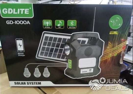 Gd Lite GD-LITE A Solar Lighting System GD 1000a With Radio image 1