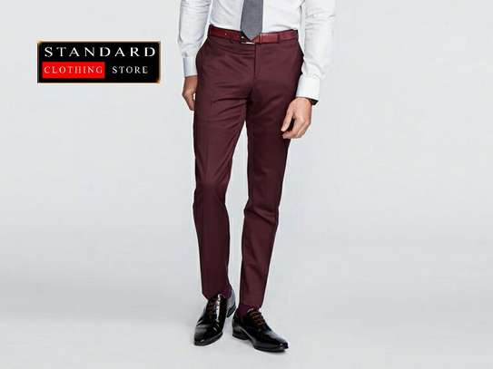 Maroon (bargundy) 2 piece and 3 piece suits image 2