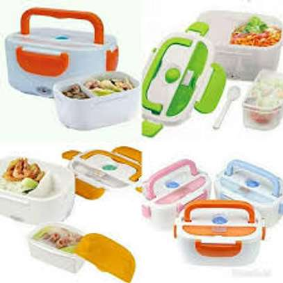 Electric lunch box Normal-blue image 1