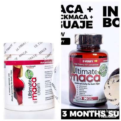 Ultimate Maca capsules +Ultimate maca cream for hips and buttocks Enhancement