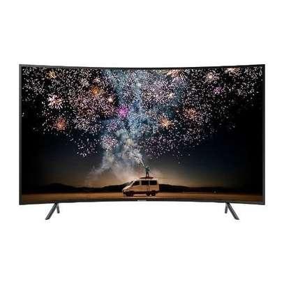 Samsung 55 Inch Curved Smart 4K TV  - Black image 2