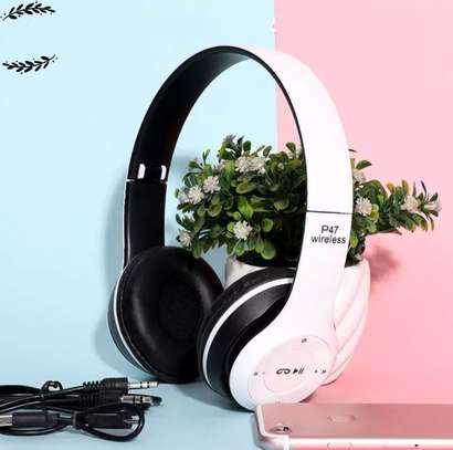 P47 Wireless Headphones Bluetooth Headset image 1