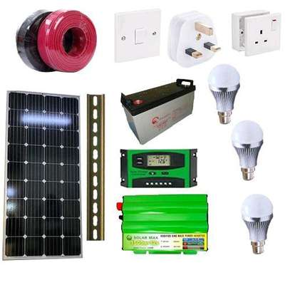 SOLAR AFRICA 300WATTS HOME FULLKIT SYSTEM image 1