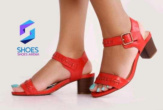 Quality Chunky Heels image 2