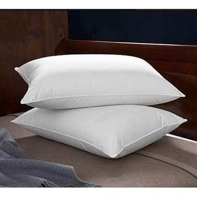 Soft Comfortable Mircofibre Hypoallergenic Bed Pillows - 1 Pair