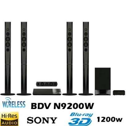 SONY BDV-N9200W 3D BLU-RAY DISC PREMIUM HOME THEATER FREE DELIVERY image 1