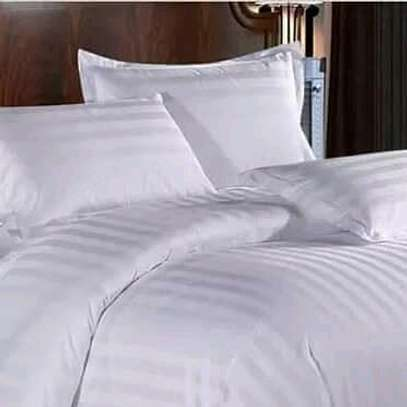 WHITE STRIPPED COTTON DUVET COVERS image 2