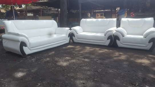 6 Seater Leather Sofa Set