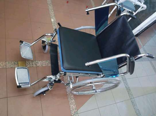 Commode wheelchair image 2
