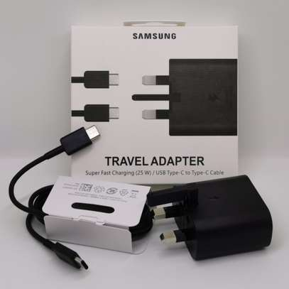 Original Samsung Super Fast Charge 25W UK Plug Travel Adapter with Type-C to USB C Cable for Samsung S20/S20+/S20 Ultra,S21/S21+/S21 Ultra Note 20/Note 20 Ultra image 6