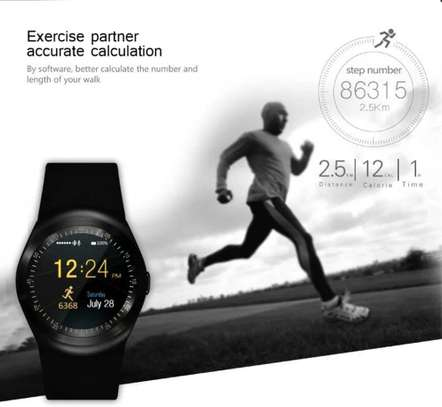 Sports Fitness Bluetooth Smart Watch Pedometer supports sim card image 6