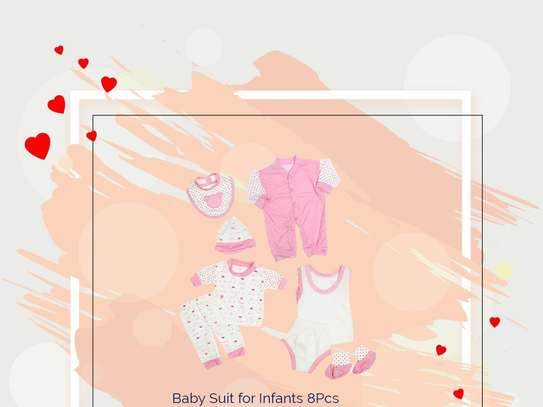 Baby Suit for infants 8pcs