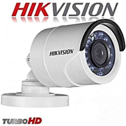 Hikvision HD CCTV Camera Bullet 720p - White image 1