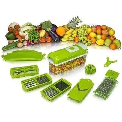 Nicer Dicer Plus Vegetable Cutter - Green image 1