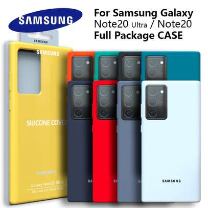 Silicone case with Soft Touch for Samsung Note 20 Note 20 Ultra image 4