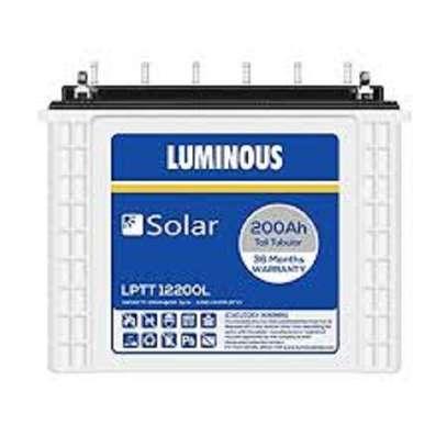 Luminous 200Ah solar battery image 1