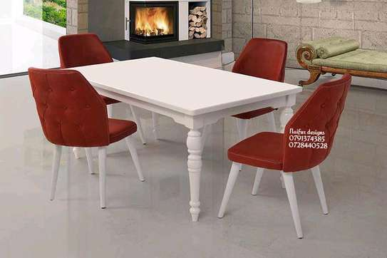Modern Dining sets/four seater dining set image 1