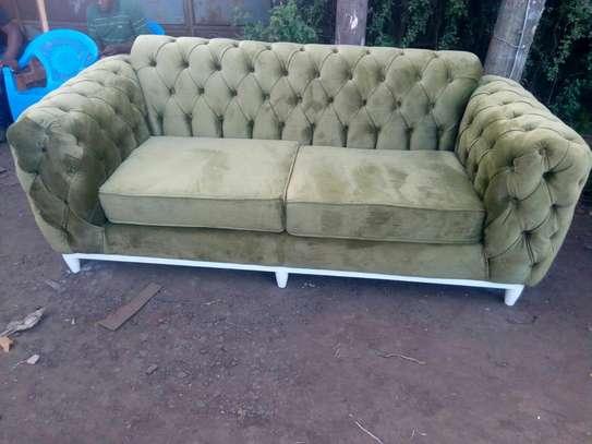 Tufted sofa image 1
