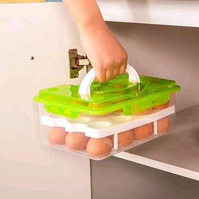 Egg storage box image 1