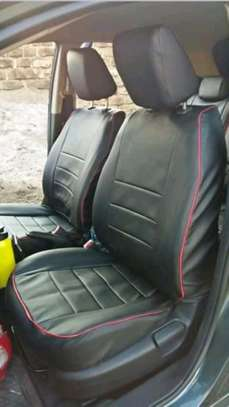 BLACK DURABLE CAR SEAT COVERS image 4