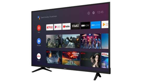 """hisense 58"""" frameless smart 4k uhd TV image 1"""