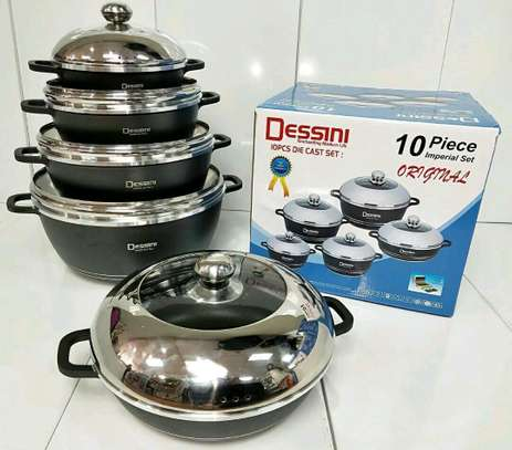10pc dessini cookware set