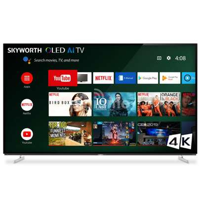 Skyworth 55 Inch 4K UHD Smart Android TV