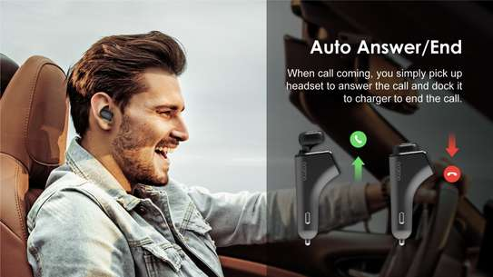 Oraimo Wireless Headset Plus Car Fast Charger image 2